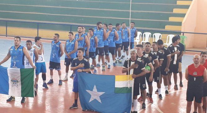 Esperantina sediou campeonato regional de vólei