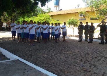 Direção do presídio de Esperantina realiza atividade com detentos