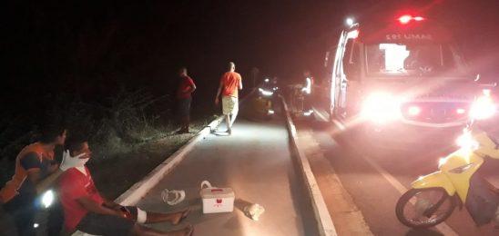 Motorista perde controle do veículo e cai no acesso do rodoanel em Barras