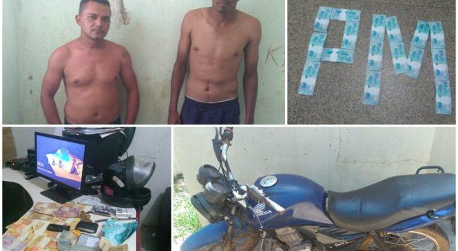 Dupla do Maranhão é presa em Batalha com dinheiro falso