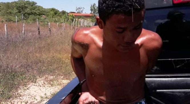 Carambolo é preso pela polícia militar em Batalha