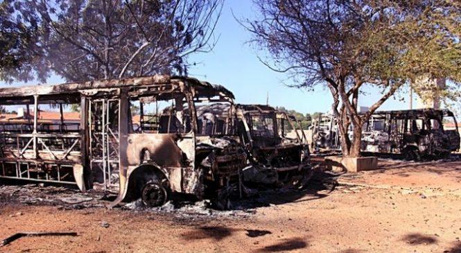 Greco em Piracuruca captura homem acusado de ser mentor do incêndio dos ônibus escolares