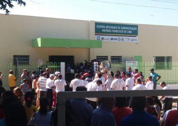 Centro de Administração Integrado em Esperantina, foi inaugurado