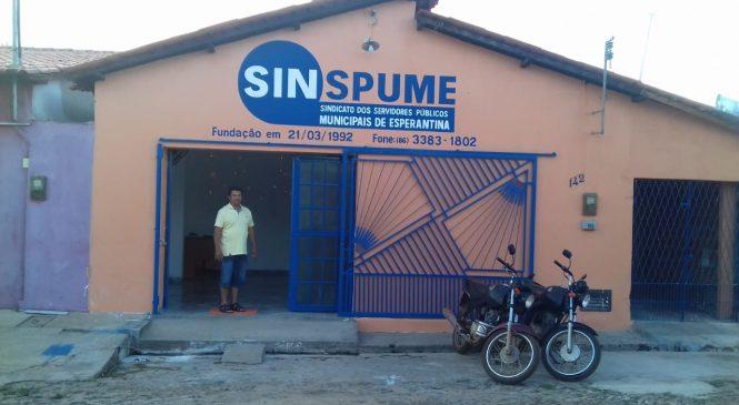 Diretoria do Sinspume realiza obras de reforma da sede e entrega auditório