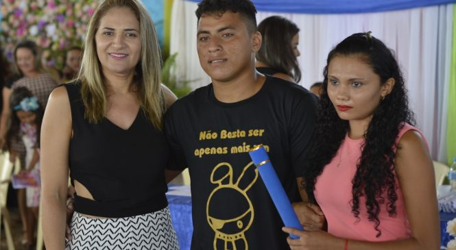 Formatura 2018: 9º ano do fundamental Regular e EJA-NOITE das Escolas Municipais de Morro do Chapéu do Piauí