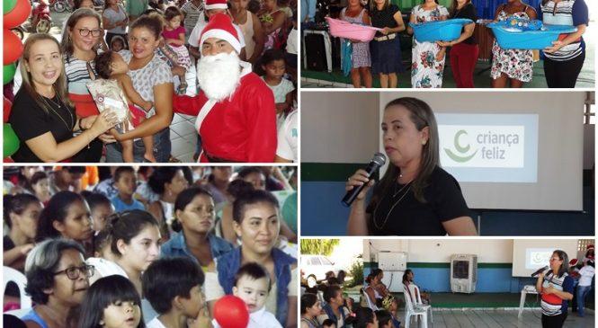 CRAS de Esperantina realiza confraternização do programa Criança Feliz