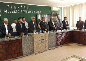 Empossada nova mesa diretora da câmara municipal de Esperantina