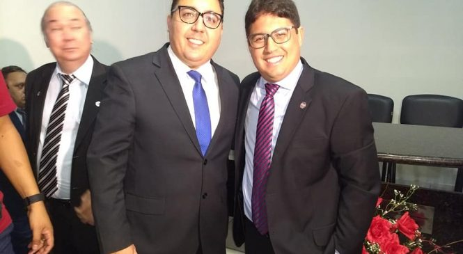 Vice-prefeito Janio Filho representa Esperantina em solenidade da OAB