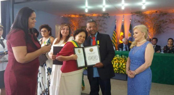 Sindicalista é homenageado com medalha do Mérito Renascença