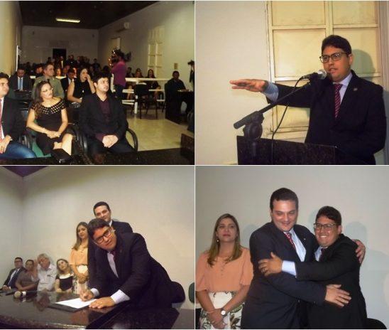 Dr. Carlos Júnior toma posse na subseção da OAB/PI em Barras