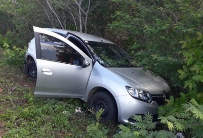 Motorista perde controle do veículo na BR-343 e causa acidente próximo a Piracuruca