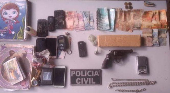 Polícia deflagra operação e prende traficantes de drogas no Piauí