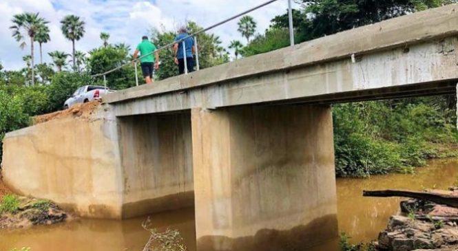 Prefeitura de Joaquim Pires constrói pontes na zona rural