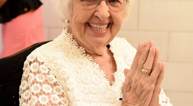 Festa de aniversário de 101 anos de Zilda Rebelo em Morro do Chapéu