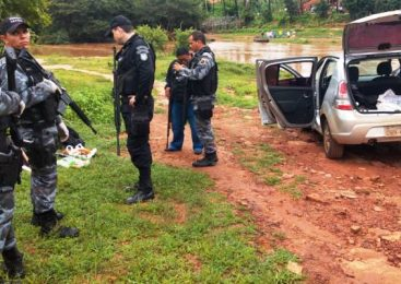 PM apreende dinamites e veículos utilizados por bandidos em Castelo do Piauí