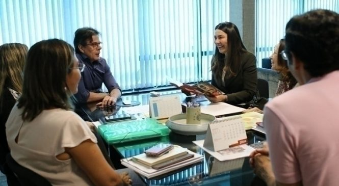 Margarete trata sobre parceria entre Governo e Sebrae em prol da Serra da Capivara