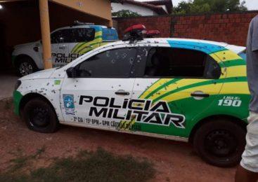 Bandidos atacam banco do Bradesco e metralham viaturas em Castelo do Piauí