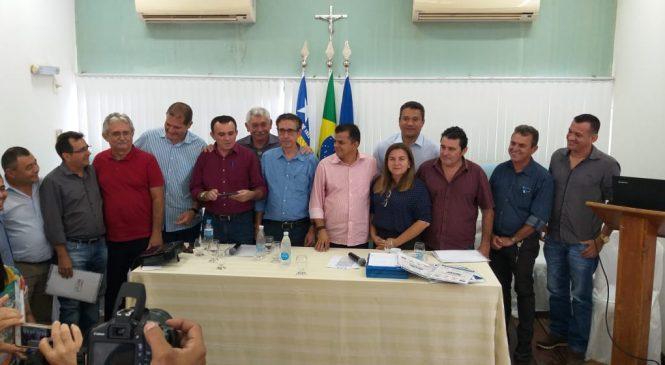 Prefeitos do Território dos cocais se reúnem na cidade de Morro do Chapéu do Piauí