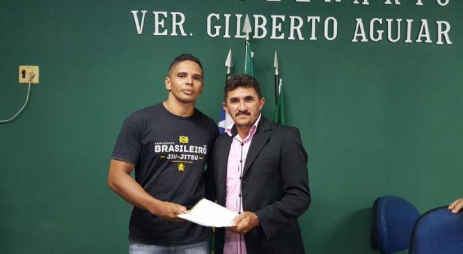Vereador Domingos Luiz solicita inclusão do jiu-jitsu em escolas municipais