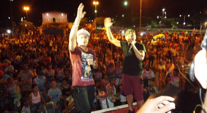 Veja: Grande festa de carnaval do povo em Morro do Chapéu do Piauí