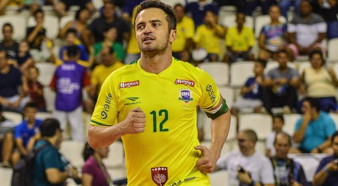 Falcão, Rei do Futsal, vai promover jogo festivo em Esperantina