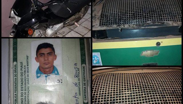 Polícia prende homem embriagado em Joaquim Pires