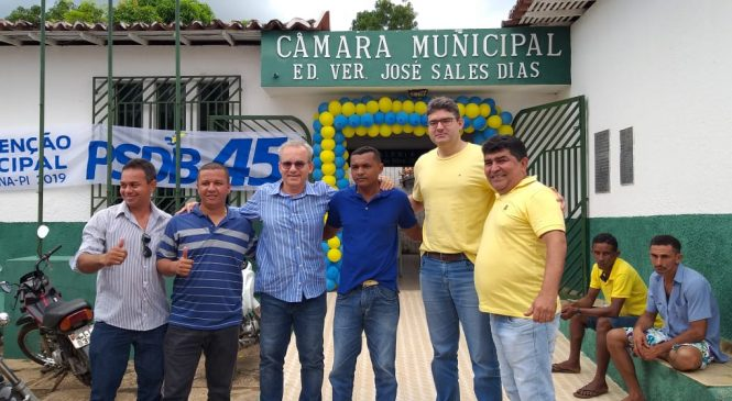 Erasmo Silva é o novo presidente do PSBD de Esperantina
