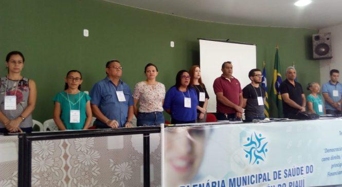 Plenária discute melhorias na saúde de Morro do Chapéu do Piauí