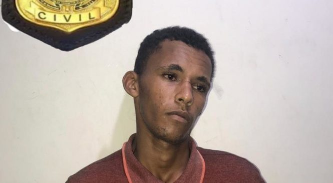 Fugitivo de delegacia em 2015 é recapturado pela polícia