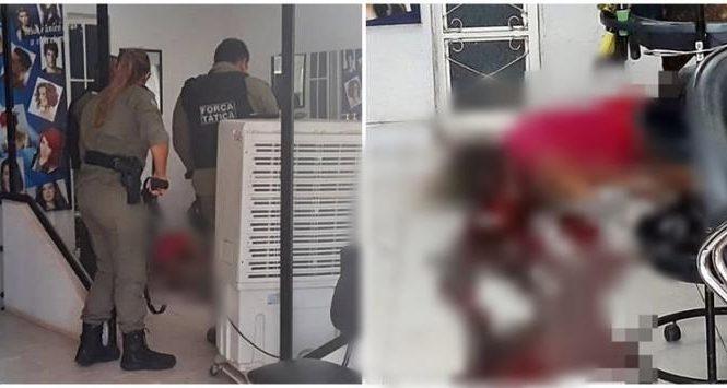 Mulher é morta a tiros dentro de salão de beleza no Piauí