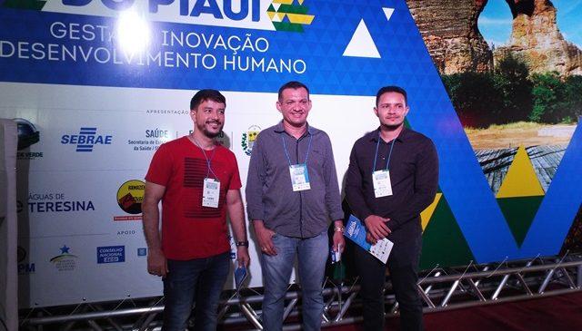 Ronaldo Gomes prefeito de Luzilândia participa do II Congresso das Cidades