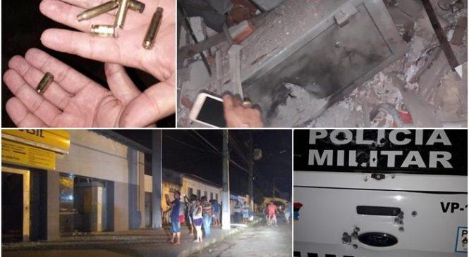 Bando explode dois bancos e metralham viatura da polícia em São Bernado no MA