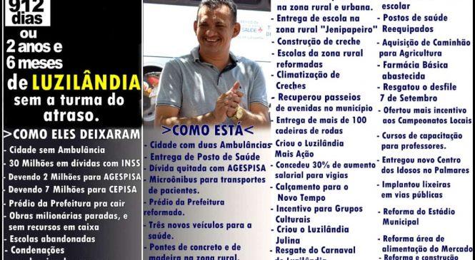 Prefeito de Luzilândia Ronaldo Gomes faz balanço das ações