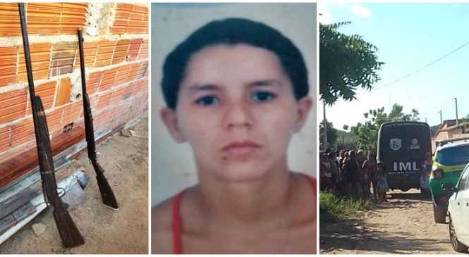 FEMINICÍDIO: marido mata mulher a tiros enquanto ela dormia no Piauí