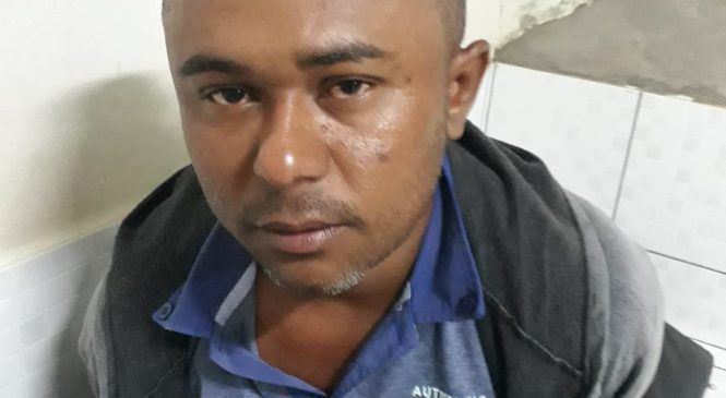 Polícia de Barras prende homem com revólver calibre 22, após perseguição