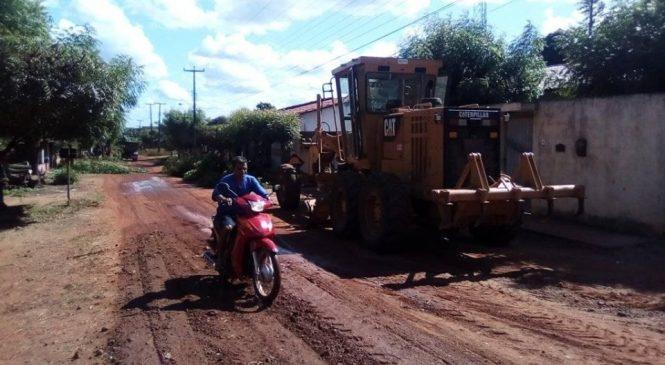 Serviços de terraplanagem para asfalto da rua Tony Ramos foi iniciado