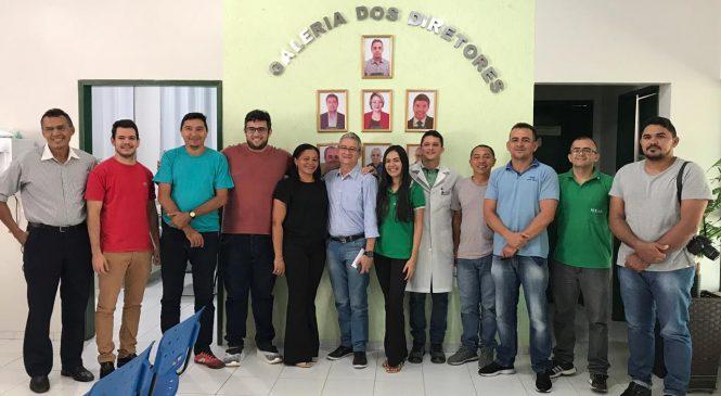Novo Diretor do Hospital Júlio Hartman participa de coletiva com imprensa