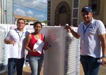 Equatorial realiza entrega de mais de 100 geladeiras novas em Esperantina