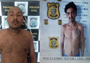 Policia Civil cumpre mandados por homicídio, tráfico de drogas e posse ilegal de arma de fogo