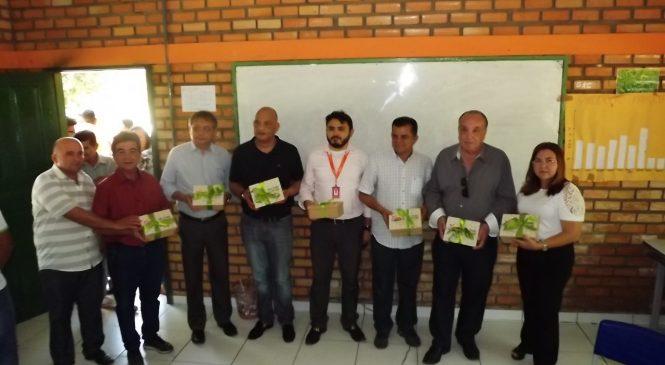 Presidente da Câmara de Comércio do MERCOSUL, participou de evento em São João do Arraial
