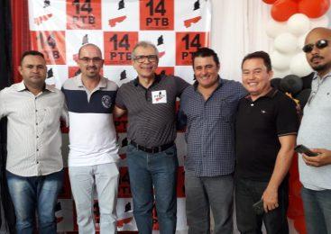 Prefeito Marcos Henrique participa de encontro do PTB em Luzilândia