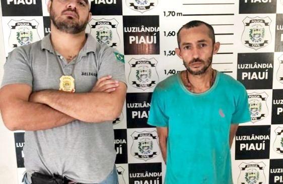 Polícia Civil prende homem acusado de roubos e homicídios em Luzilândia