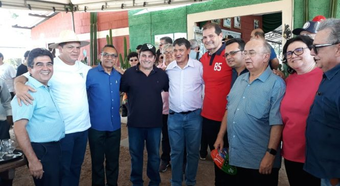 Prefeito Marcos Henrique participa da Expoagro em Piripiri