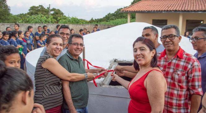 Kolping em parceria com a prefeitura de Joaquim Pires entrega cisterna de 52 mil litros