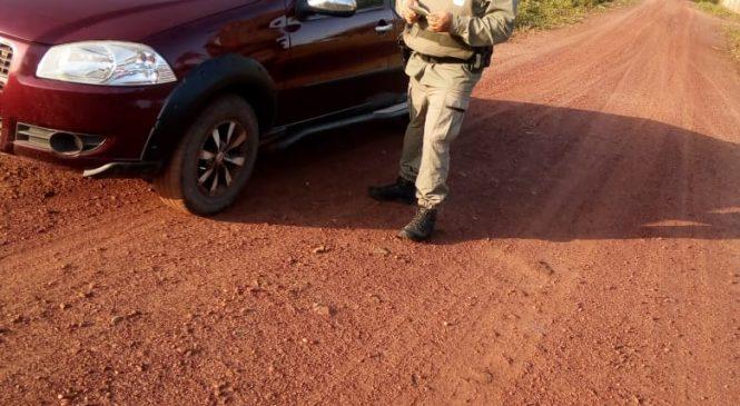 Polícia realiza blitz na estrada que liga Madeiro a Joca Marques
