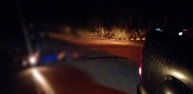 Motociclista é perseguido e executado com vários tiros em Piripiri