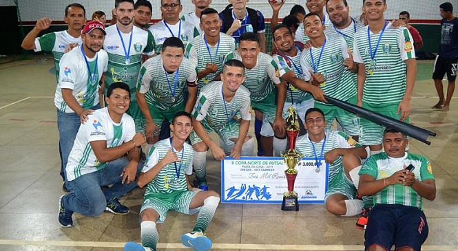Joaquim Pires fica com vice-campeonato da II copa norte de futsal Prata da Casa