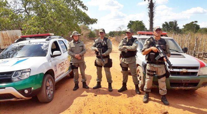 Homem é preso com armas e munições durante operação em Joaquim Pires
