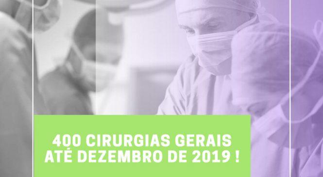 Hospital Estadual Dr. Júlio Hartman deverá realizar 400 cirurgias até dezembro