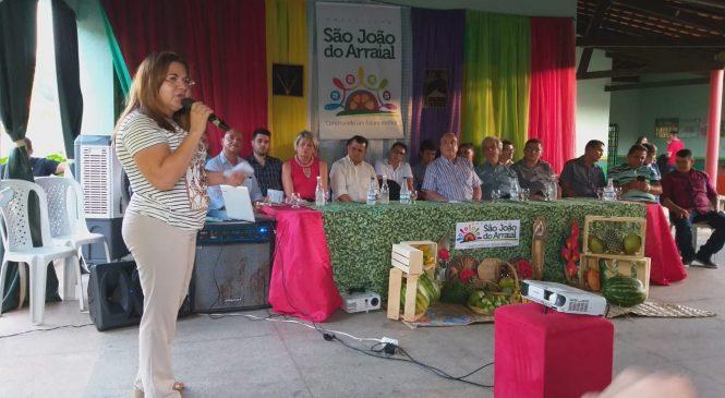Representantes da Câmara de comércio do Mercosul e empresários visitam São João do Arraial